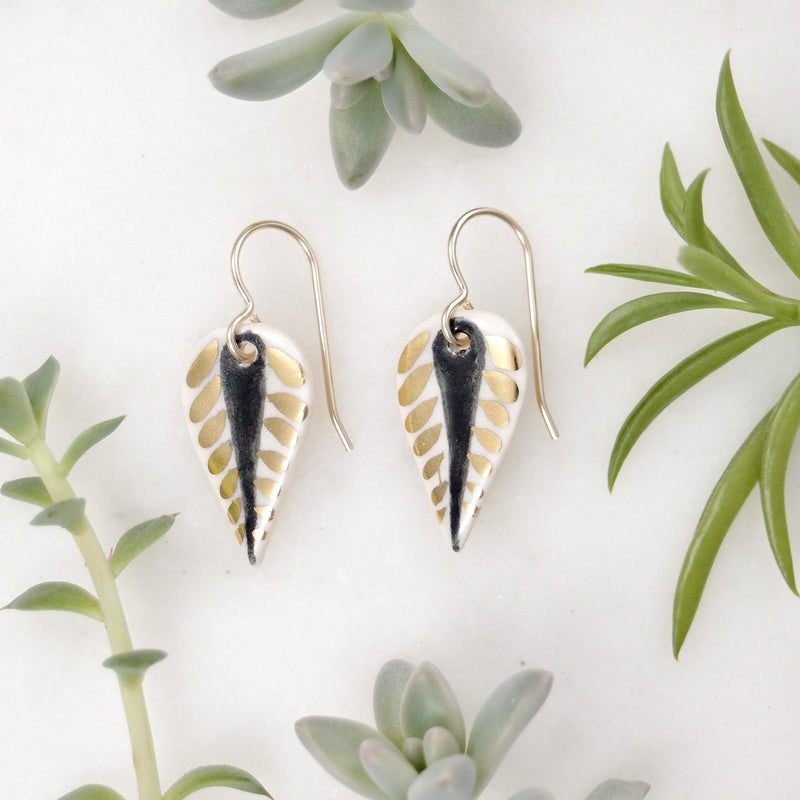 Lux Leaflet Earrings
