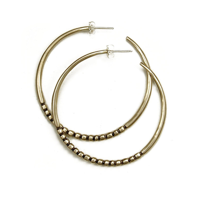 Big Bead Hoops