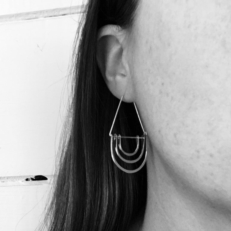 Triple Arc Hoops