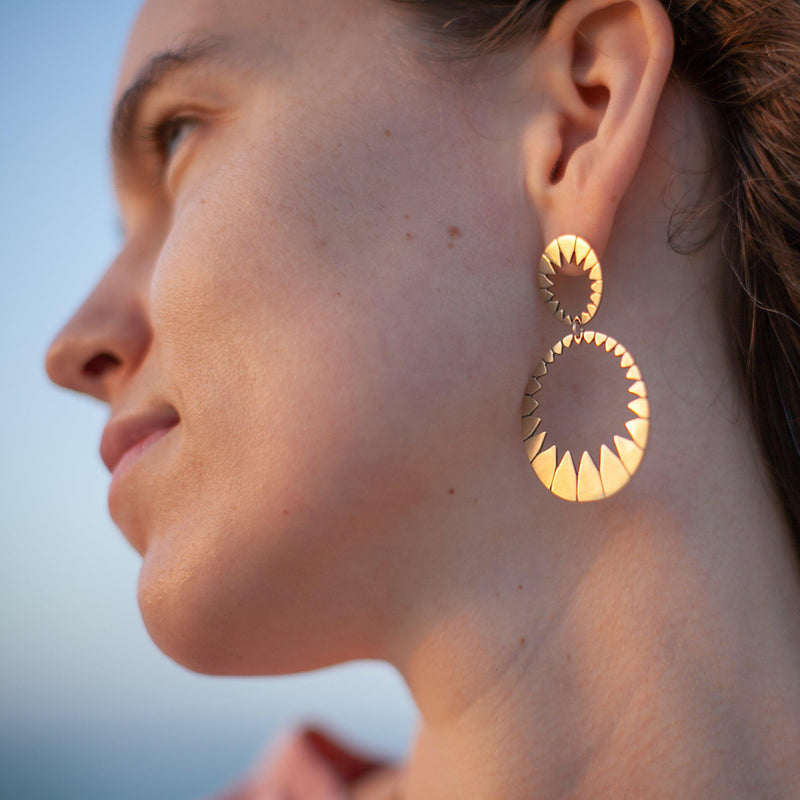 Stella Double Drop Earring
