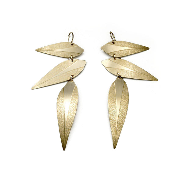 Leaf Punk Earrings
