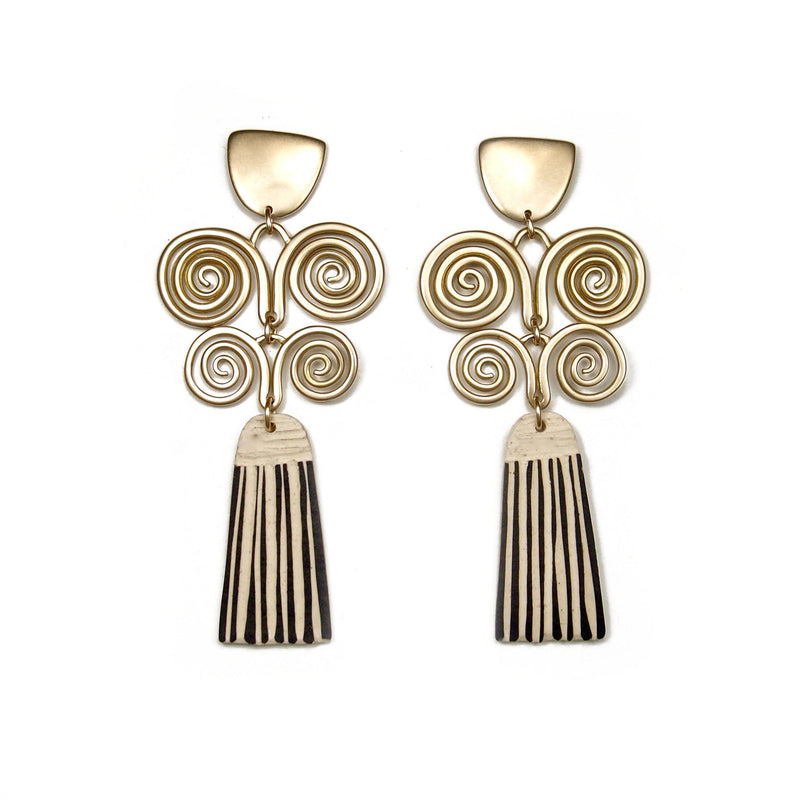 Pluma Earrings