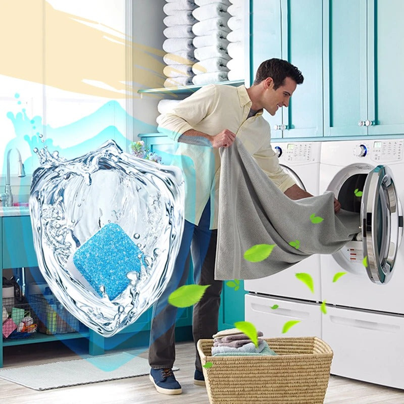 Washer Deep Cleaning Effervescent Tablet (Limited Time Promotion-50% OFF)