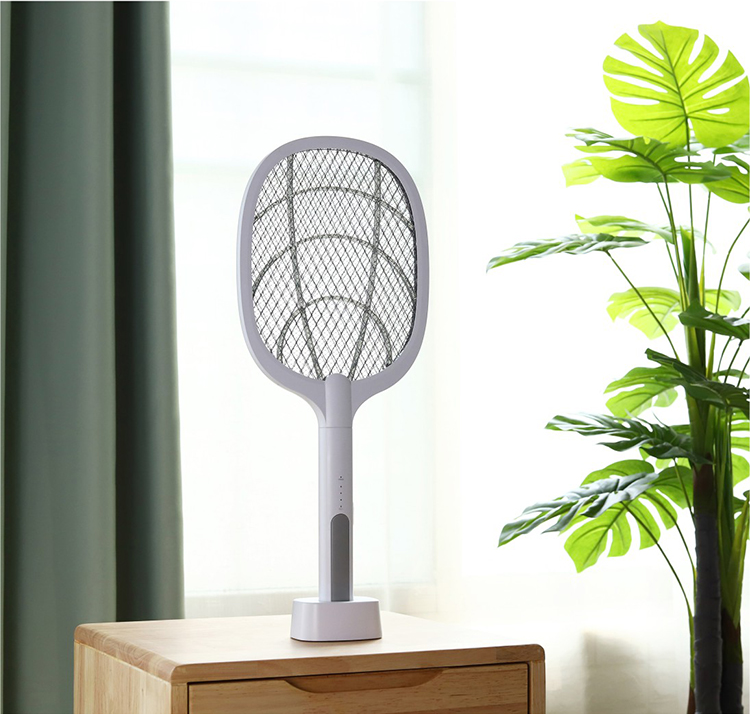 2-IN-1 USB rechargeable electric swatter