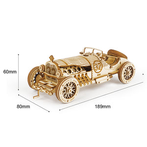 Hot Sale!!--Super Wooden Mechanical Model Puzzle