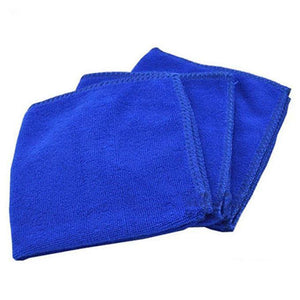 6pcs Blue soft and absorbent Care microfiber towels for cars