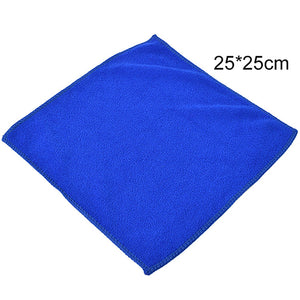 6pcs Blue soft and absorbent Care microfiber towels for cars-[variant_title]-CulGadgets