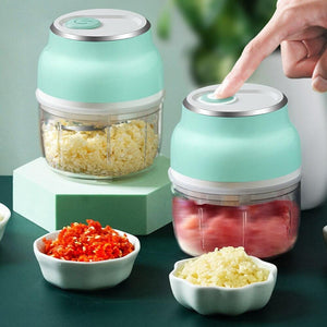 Mini Wireless Electric Garlic Chopper