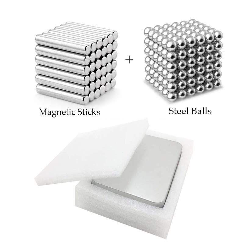 DIY Magnetic Sticks And Balls Building Toys Set
