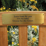 Memorial Brass Plaques/Plates For Pets