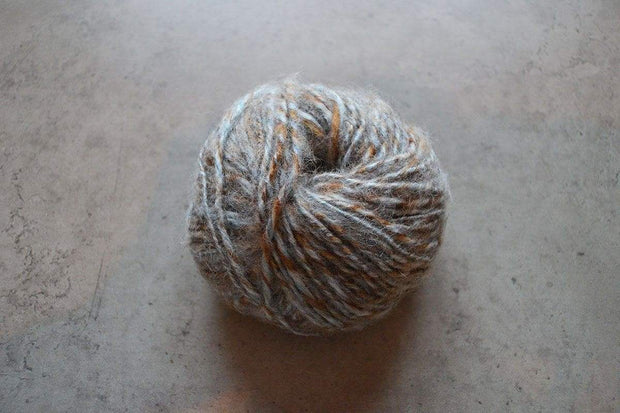 G&M Alpaca & Wool twist ALPACA & WOOL TWIST LYSEGRÅ / BRUN