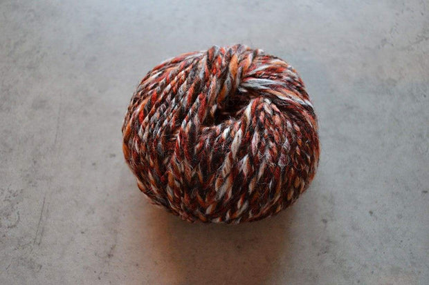 G&M Alpaca & Wool twist ALPACA & WOOL TWIST RØD / ORANGE / BRUN