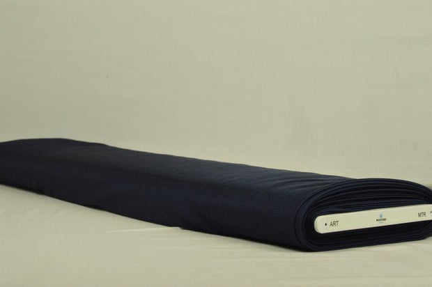 G&M Charmeuse NAVY CHARMEUSE FOER (MIN. 3 M.)