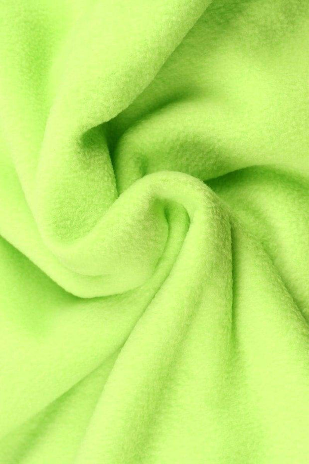G&M Fleece POLAR FLEECE ANTI-PILLING LIME GRØN