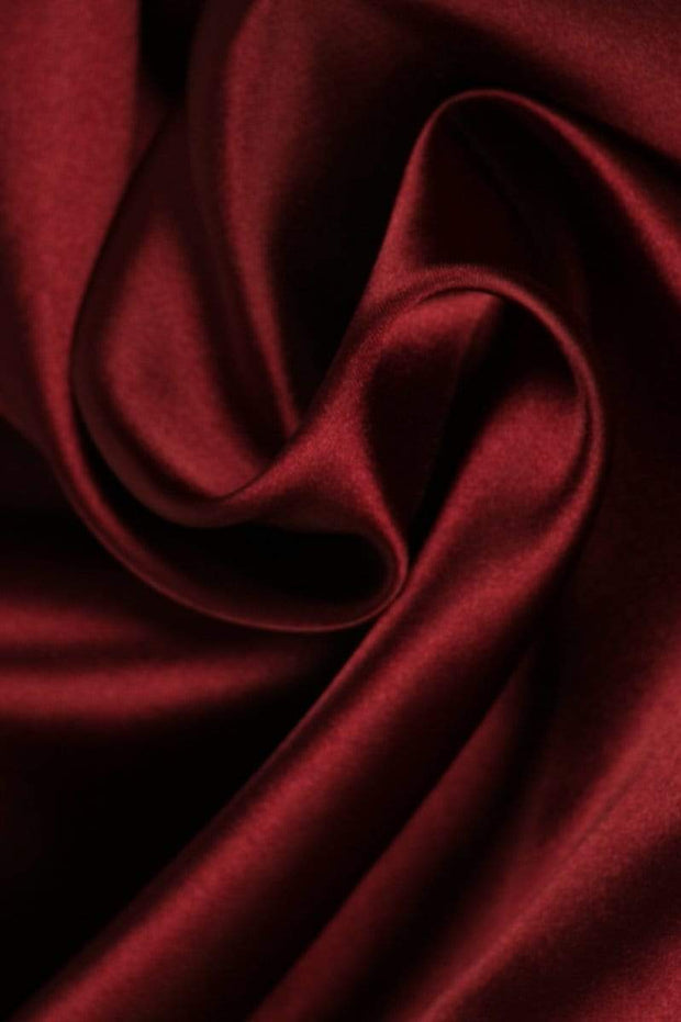 G&M Satin SATIN BORDEAUX (MIN. 3 M.)