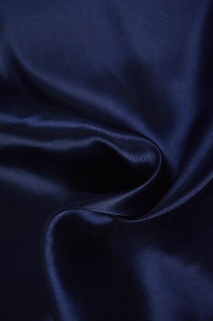 G&M Satin SATIN NAVY (MIN. 3 M.)