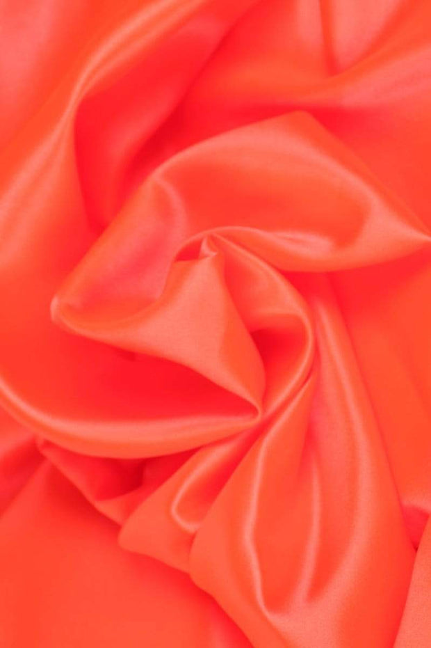 G&M Satin SATIN NEON ORANGE (MIN. 3 M.)