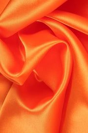 G&M Satin SATIN ORANGE (MIN. 3 M.)