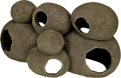 Blue Ribbon Pet Products - Exotic Environments Swim-through Stone Pile - J. Rose Global