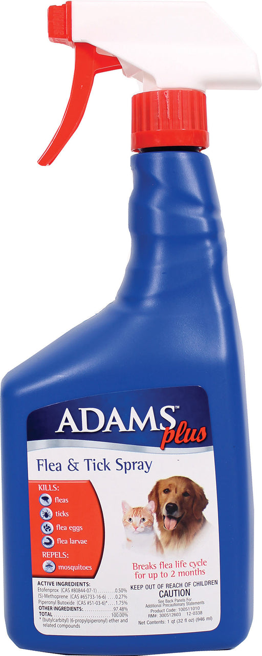 Farnam Pet - Adams Plus Flea & Tick Spray - J. Rose Global