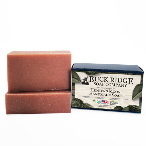 Hunters Moon Men's Handmade Soap - USDA Certified Organic - J. Rose Global