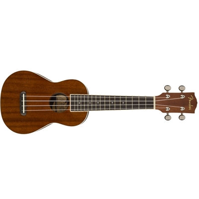 Seaside Soprano Uke Natrl Fnsh - J. Rose Global