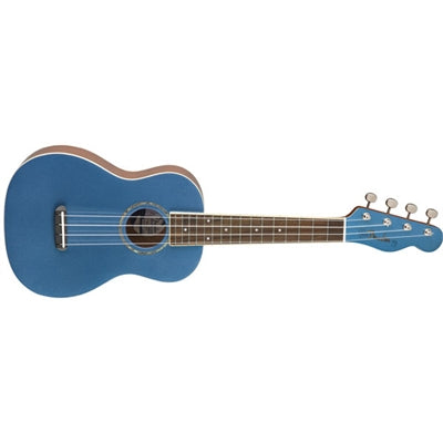 Zuma Clssc Cncrt Ukulele Blue - J. Rose Global