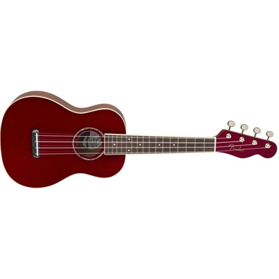 Zuma Clssc Cncrt Ukulele Red - J. Rose Global