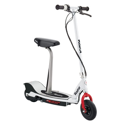 E200S Electric Scooter Wht Red - J. Rose Global