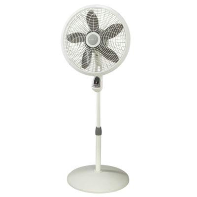 "18"" Pedestal Fan w Remote - J. Rose Global"