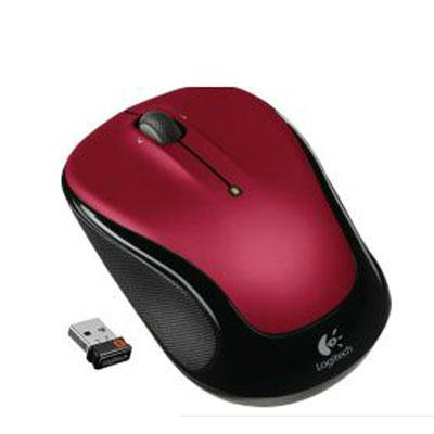 Wrls Mouse M325 Red - J. Rose Global