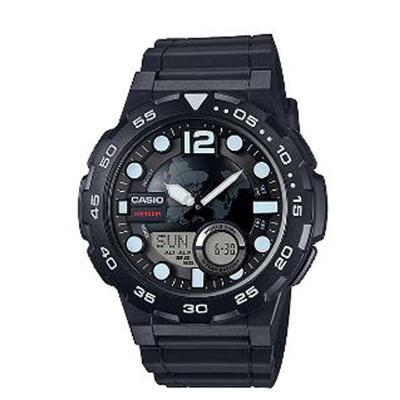 Mens Black Ana Digi Watch - J. Rose Global