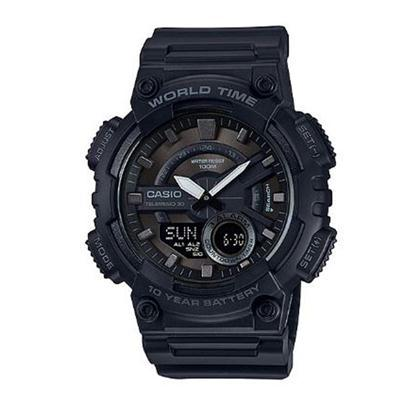 AEQ110W 1BV Blk Ana Digi Watch - J. Rose Global