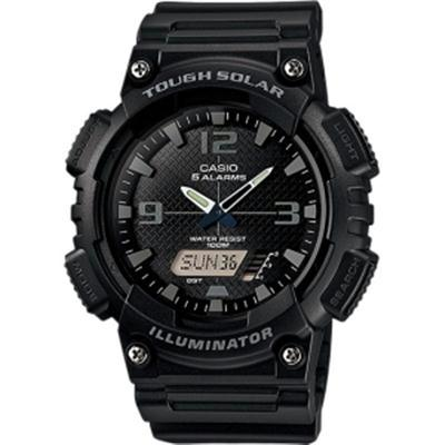 Solar AnaDigi Watch Blk Grey - J. Rose Global
