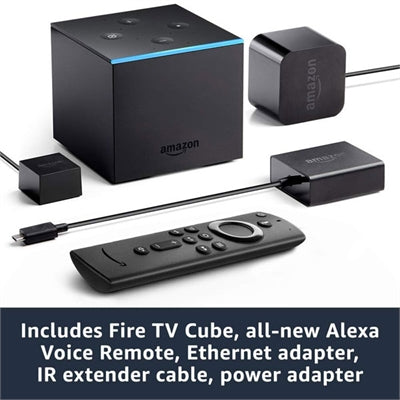 FireTV Cube Alexa 2GB Hnd Free - J. Rose Global