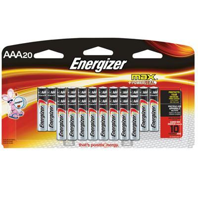 Energizer MAX AAA 20 Pack - J. Rose Global