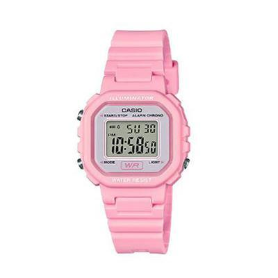 Ladies Color Digital Watch Pnk - J. Rose Global