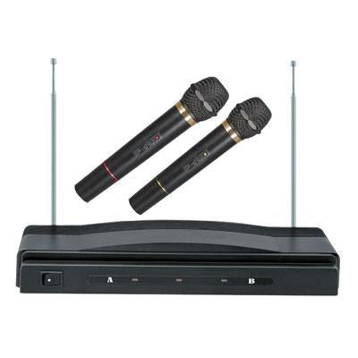 Dual Wireless Microphone - J. Rose Global