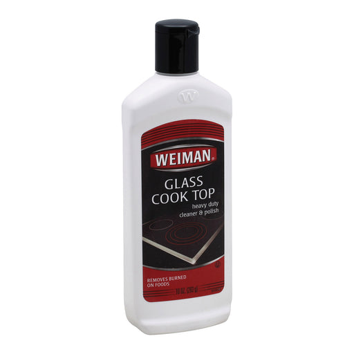 Weiman Glass Cook Top Cleaner And Polish - Case Of 6 - 10 Oz. - J. Rose Global