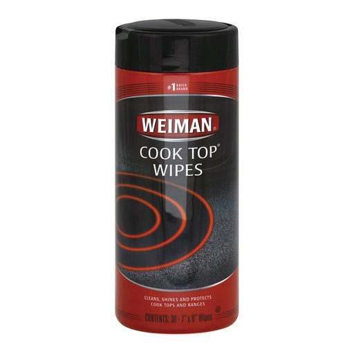 Weiman Cook Top Wipes - Case Of 4 - 30 Count - J. Rose Global
