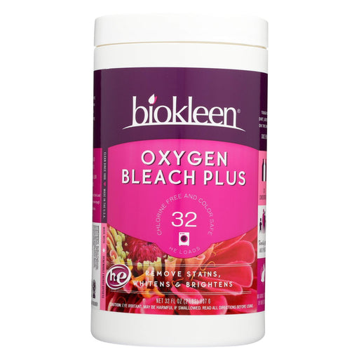 Biokleen Chlorine Free Oxygen Bleach Plus Powder - 32 Oz - Handley Global Group, LLC