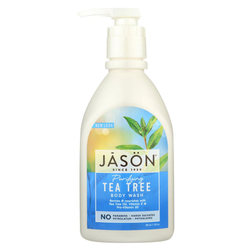 Jason Body Wash Pure Natural Purifying Tea Tree - 30 Fl Oz - J. Rose Global