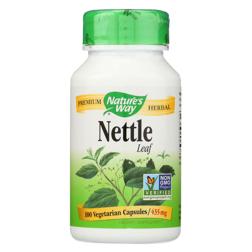 Nature's Way - Nettle Leaf - 100 Capsules - J. Rose Global