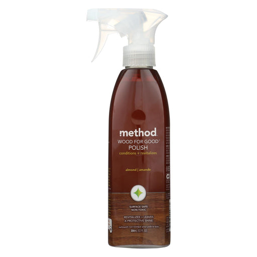 Method Products Wood For Good Spray - Almond - 12 Oz - J. Rose Global