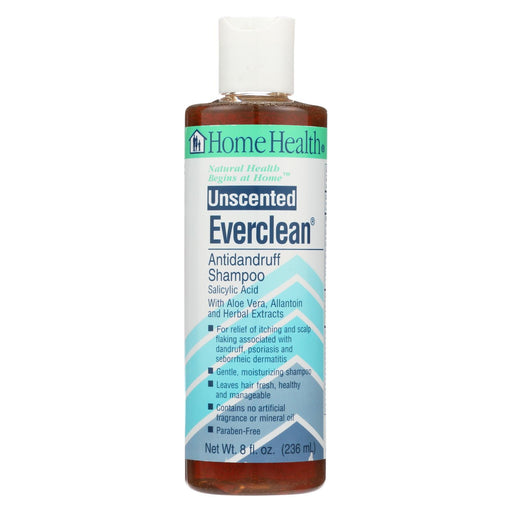 Home Health Everclean Antidandruff Shampoo Unscented - 8 Fl Oz - J. Rose Global