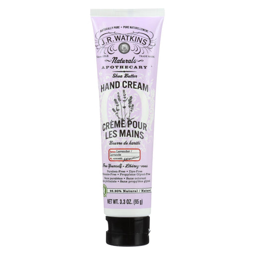 J.r. Watkins Body Cream Lavender - 3.3 Oz - J. Rose Global