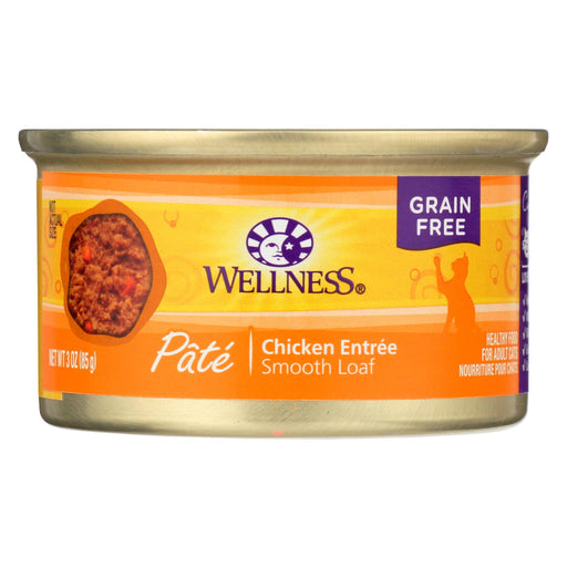 Wellness Pet Products Cat Food - Chicken Recipe - Case Of 24 - 3 Oz. - J. Rose Global