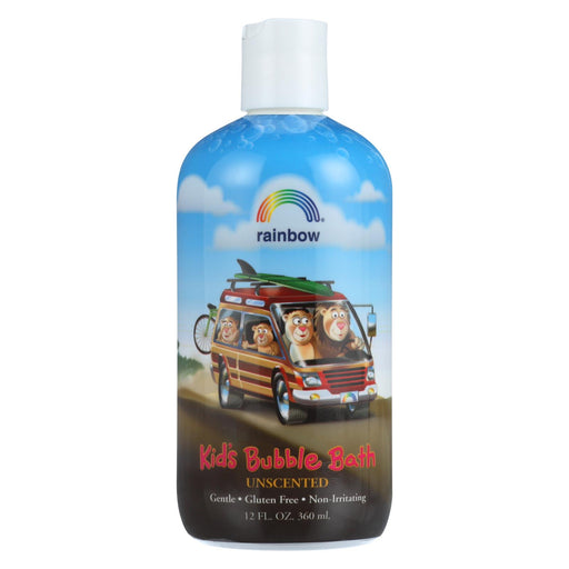 Rainbow Research Organic Herbal Bubble Bath For Kids Unscented - 12 Fl Oz - J. Rose Global
