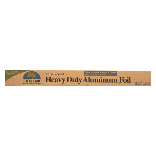 If You Care Aluminum Foil - Recycled - Case Of 12 - 30 Sq. Ft. - J. Rose Global