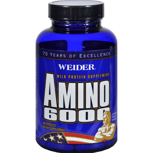 Weider Amino 6000 - 100 Capsules - J. Rose Global
